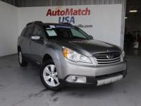 This 2011 Subaru Outback 3.6 R Limited Pwr Moon is