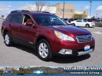 One look at our 2011 Subaru Outback 2.5i Limited