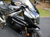 2011 Suzuki GSXR-1000 with just 2954 miles. Completely