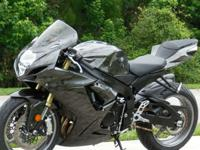 ---;;';2011 Suzuki GSXR750 with 4k actual miles. This