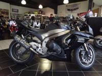 2011 Suzuki GSX-R1000 LOW MILEAGE! LIP ON PIPE! JUST