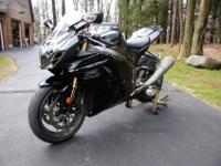 2011 Suzuki GSX-R 1000 Only 2954 Miles! 2011 Suzuki