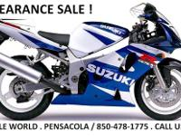 2011 SUZUKI GSXR-600. ON SALE NOW Msrp $ 11,599.00 SALE