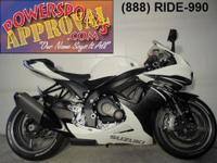 2011 Suzuki GSXR600 sport bike for sale with only 1,798