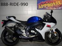 2011 Suzuki GSXR750 made use of crotch rocket for sale