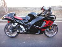 New for 2011: the Hayabusa is available in brand-new