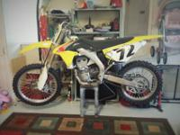 2011 RMZ 450 (efi) for saleIt was only ridden 21 days