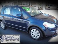 2011 Suzuki SX4 Hatchback   manual, 6 spd