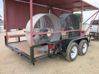 THIS TRAILER IS 18' IN LENGTH WITH 2-3500LB AXLES AND