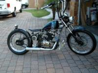 "A Custom 2011 ""Bobber"" that stands apart from the"