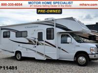 This Class C RV is approximately 27 feet in length with