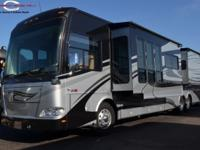 2011 Thor Tuscany Bath and Half 42RQ  Dual 13.5 BTU