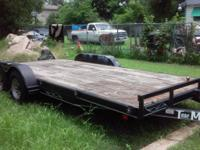 "Clean Texas title. Selling my 18ft ""TowMaster"" trailer."