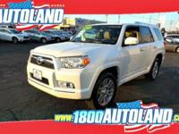 New Price! White 2011 Toyota 4Runner Limited V6 4WD