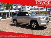 Options:  2011 Toyota 4Runner Limited|Classic Silver