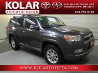 4Runner Limited V6, 4WD, ONE Owner Per AUTO CHECK