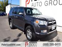 Our 2011 Toyota 4Runner 4WD presented in Magnetic Gray