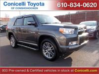 CarFax 1-Owner, This 2011 Toyota 4Runner Limited will