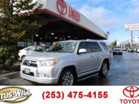 2011 Toyota 4Runner Silver CARFAX One-Owner. Recent