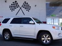 Options:  2011 Toyota 4Runner Sr5 4X2 4Dr Suv|Blizzard
