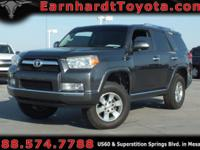 We are happy to offer you this 2011 Toyota 4Runner SR5