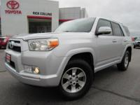 3rd Row seating! This 2011 Toyota 4runner comes