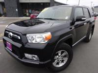 Options:  2011 Toyota 4Runner Sr5|Black|Recent Arrival!