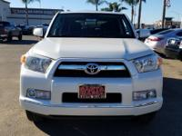 Options:  2011 Toyota 4Runner Sr5|White|4Wd. Carfax