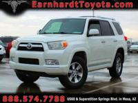 We are thrilled to offer you this 2011 Toyota 4Runner