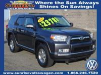 SR5 4RUNNNER FOUR WHEEL DRIVE, SUNROOF, ONE OWNER AND