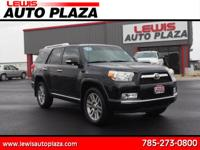 Options:  2011 Toyota 4Runner Sr5|Awd Limited 4Dr