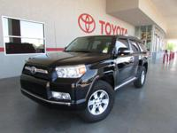 Options:  2011 Toyota 4Runner Sr5|4X4 Sr5 4Dr Suv|Only
