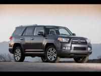 CARFAX 1 Owner 2011 TOYOTA 4RUNNER with just 16145