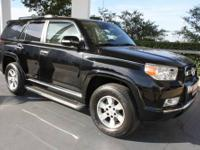 The CARFAX report for this 2011 4Runner SR5 highlights