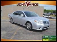 2011 Toyota Avalon CARFAX: 1-Owner, Buy Back Guarantee,