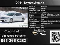 Call Tom Wood Porsche at . Stock #: A7466A. Year: