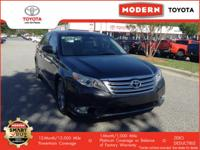 Load your family into the 2011 Toyota Avalon! Simply a