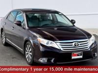 Sizzling Crimson Mica 2011 Toyota Avalon Limited FWD