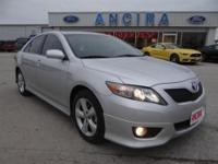This used Toyota Camry SE is now for sale in