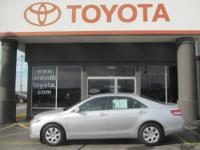 TOYOTA CERTIFIED CAMRY LE, CLEAN CARFAX, and ONE-OWNER.