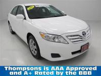 TOYOTA CERTIFIED!.............2011 Toyota Camry LE