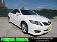 Options Included: N/A2011 Toyota Camry SE, white with