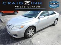 This Toyota Camry is CERTIFIED! Low miles for a 2011!