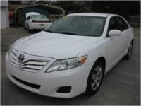 2011 Toyota Camry LE with 6 speed automatic