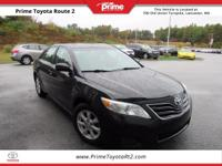 New Price! 2011 Toyota Camry LE in Black. Gray Cloth,