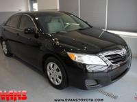 Clean CARFAX. 2011 Toyota Camry LE FWD 6-Speed