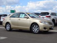 Clean CARFAX. Tan FWD 2.5L I4 SMPI DOHC ONE OWNER, MP3.