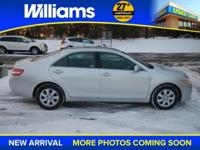 Options:  2011 Toyota Camry Le|Silver|Clean Vehicle