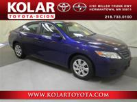 Camry LE, Clean Auto Check History Report, and Local