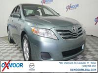2011 Toyota Camry LE BLUETOOTH TECHNOLOGY, LEATHER,